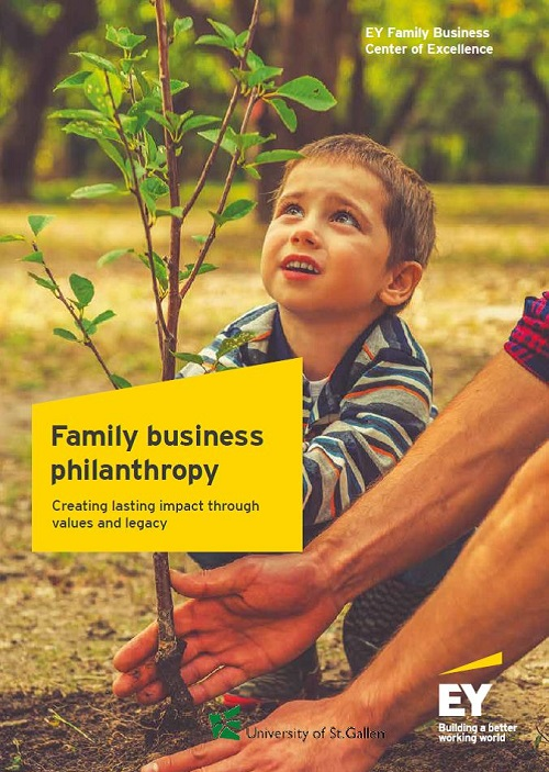 Family Business Philanthropy.  Creating lasting impact through values and legacy