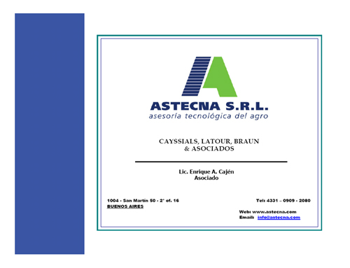 Astecna S.R.L, la empresa familiar agropecuaria
